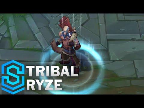 Tribal Ryze Skin Spotlight - Pre-Release - League of Legends