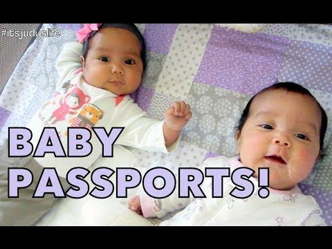 Baby Passports! - May 22, 2014 - itsJudysLife Daily Vlog