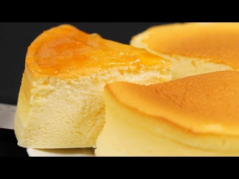 Japanese Soufflé Cheesecake Recipe (Fluffy and Moist Cotton Cheesecake) | Cooking with Dog