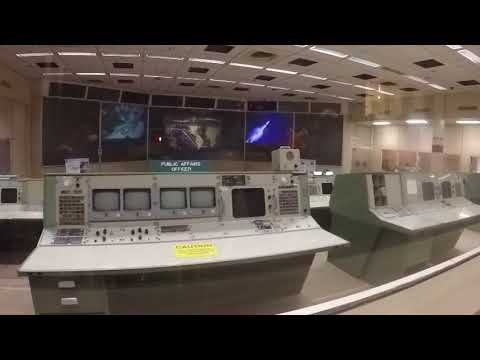 Mission Control at The Johnson Space Centre Houston Texas
