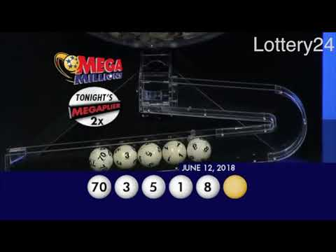 2018 06 12 Mega Millions Numbers and draw results