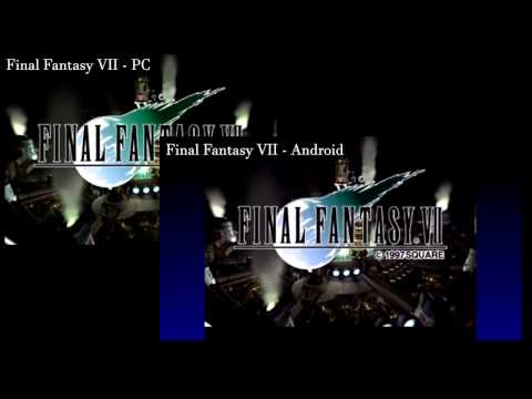Final Fantasy VII - Android vs PC comparison