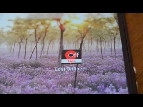 شرح تطبيق lost offline free