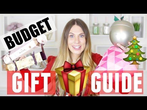 BUDGET Christmas Gift Guide!