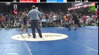 152 Kristian Mendez vs. James Clark