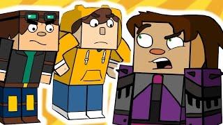 Minecraft Story Mode 6 (Funny Animation)
