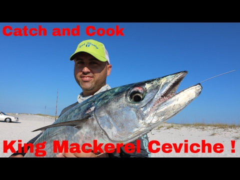 Catch and Cook : King Mackerel Ceviche