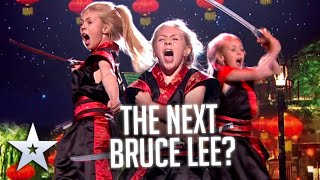 Is this the FIERCEST girl in Britain?   Live Shows   BGT Series 9