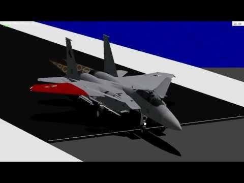 Landing practice on carrier