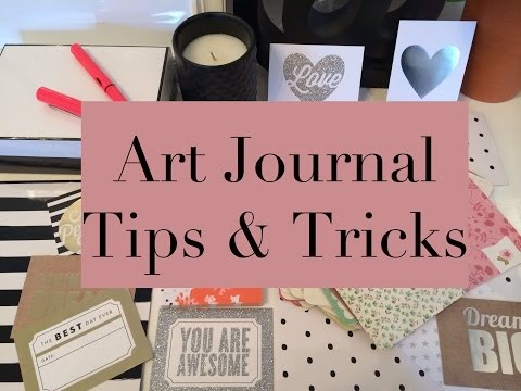 How To Art Journal | My Quick Tips & Supplies for Beginners
