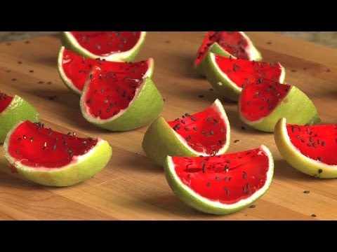 How to Make Sliced Watermelon Jell-O Shots | Drink Recipe | Allrecipes.com