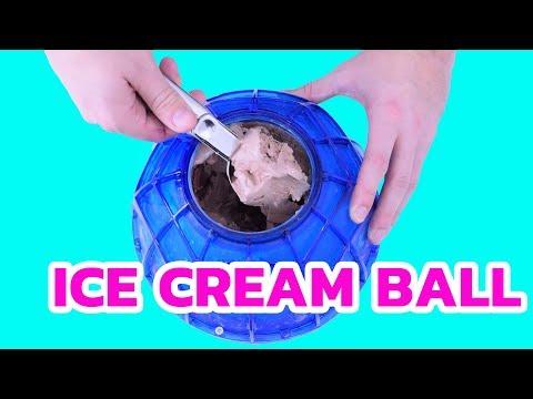 Ice Cream Maker Ball   Kick & Roll the Ice Cream Maker - Toy for Kids