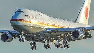 Download BOEING 747 LANDING - AF1 of JAPAN arriving at Amsterdam Schiphol (4K)