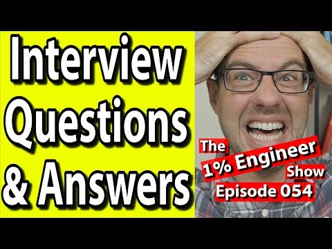 Top Job Interview Questions For Engineers | Hard Job Interview Questions And Answers
