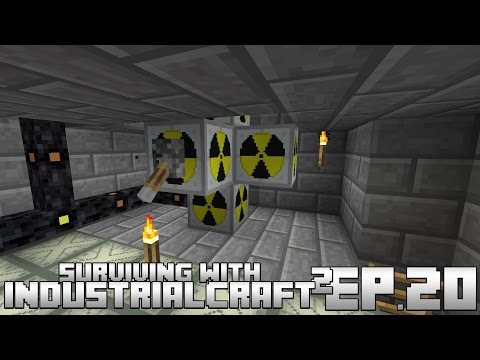 Surviving With IndustrialCraft 2 :: Ep.20 - Simple Plutonium Generation