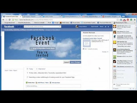 How to create a Facebook Page Event and add a Banner Image (March 2013)