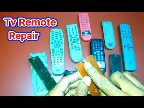 How To Any Tv  Remote Repair .