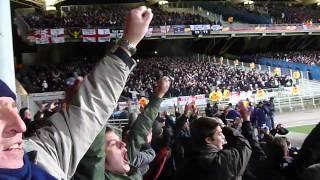 Lyon v Spurs spurs fans celebrate securing draw to qualify