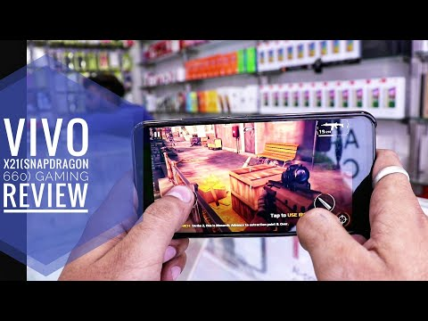 Vivo X21 (Snapdragon 660) Gaming , heating and battery test