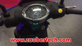 Z-tech ZT-09 Classic+ Elektrofahrrad bei Zaubertech (500W)