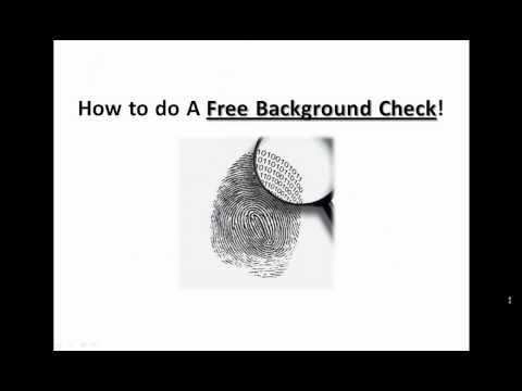 3 Ways To Do A Free Criminal Background Check Fast And Easy