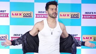Varun Dhawan Launches INDIA's First Scented Vest