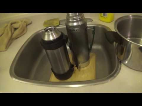 how to clean your stanley thermos and thermos