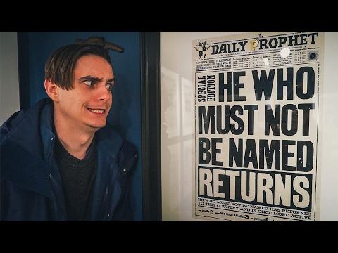 Exploring Harry Potter House in LONDON! (MinaLima)