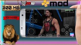 200MB] OFFLINE WWE 2K18 PSP DOWNLOAD 100℅ REAL