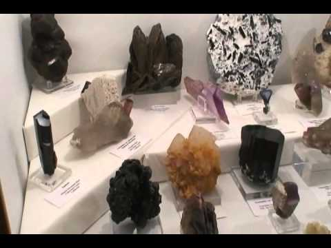 Display Cases at the TGMS 2011 Mineral Show!