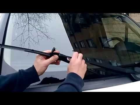 How to replace LAND ROVER wiper blades