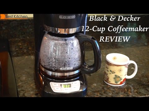 Black & Decker 12-Cup Programmable Coffeemaker Review