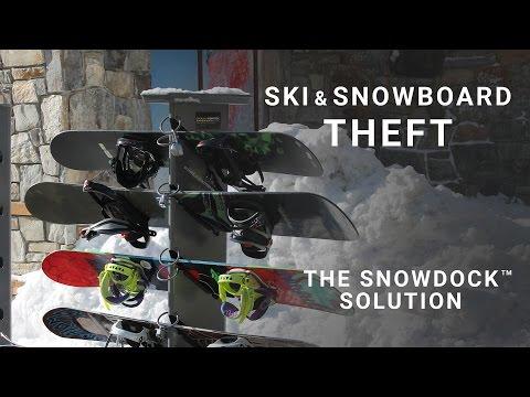 Ski & Snowboard Theft - The SnowDocK™ Solution