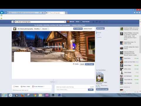 How to Add a Cover Photo to Facebook
