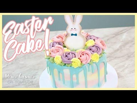 Pastel Watercolor Easter Cake   Renee Conner