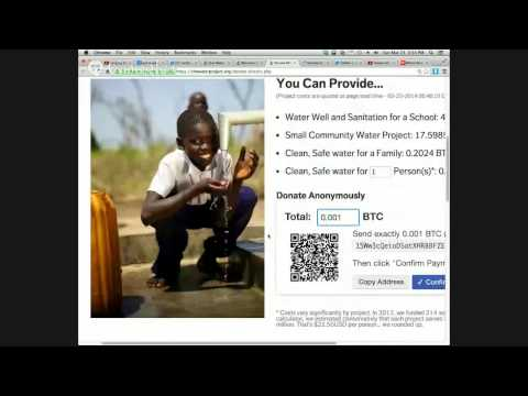 World Water Day Accepts Bitcoin Donations