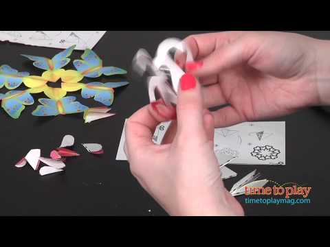 Cut-Crease-Create Snowflakes from Melissa & Doug