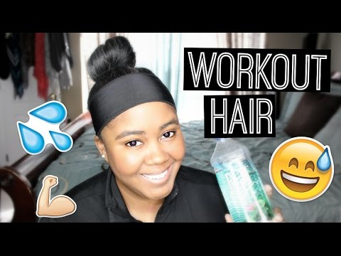 Transitioning Tips | Protect Hair During a Workout!