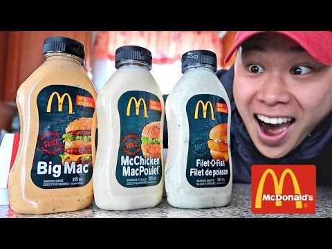 FOUND MCDONALD'S SECRET SAUCE BOTTLES!!! (LIFE HACKS YOU NEED TO TRY)