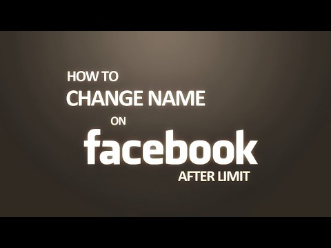 How to change name Facebook /by: CAMBODIA merl serey/របៀបប្ដូរឈ្មោះfacebook