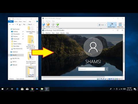 How to Copy Files to VM VirtualBox Virtual Windows