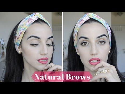 Beginners Makeup tips & tricks | How To Natural Eyebrow Tutorial
