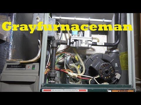 Gas furnace pressure switch problems