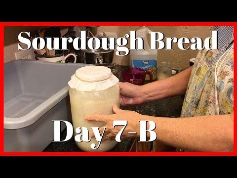 How to Make Sourdough Bread Day 7(2 of 2) | Sourdough Starter | AldermanFarms