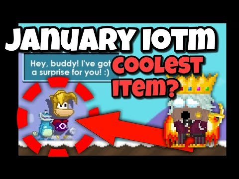 January IOTM / COOLEST ITEM? | Growtopia