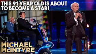 This 91 Year Old Is About To Become A Star! | Michael McIntyre's Big Show