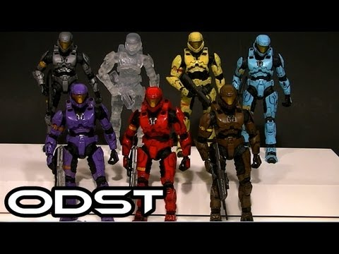 McFarlane HALO 3 ODST ARMOR Comparative Figure Review