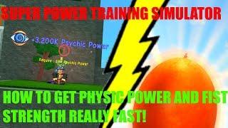 10:16) Roblox Super Power Training Simulator Special Halloween