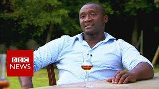 Former Premier League footballer Tébily on becoming a Cognac maker - BBC News