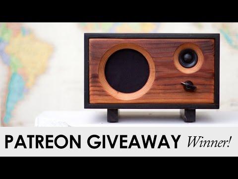 December Patreon Giveaway Winner!